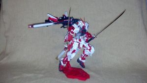 MG Red Frame Kai by TribalBunny13