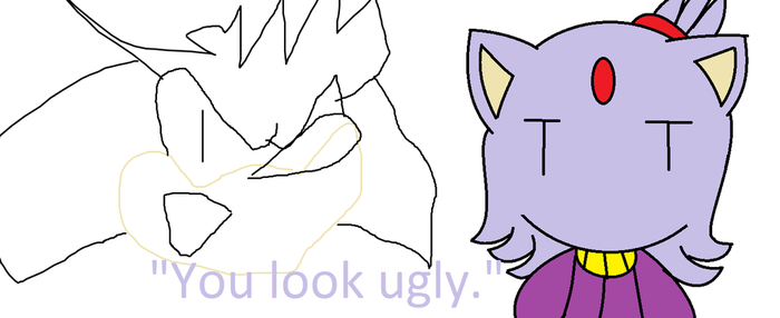 .:You Look Ugly:. by sonamyartist