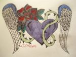 Angel Heart - Hand Drawn by Gothic-Rebel