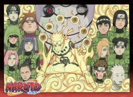 Naruto 515 Cover by johnny182ee