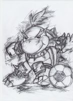 Strikers Bowser Jr by ImotepNicholas