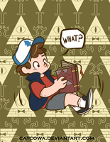 Gravity Falls - Dipper Pines by caycowa