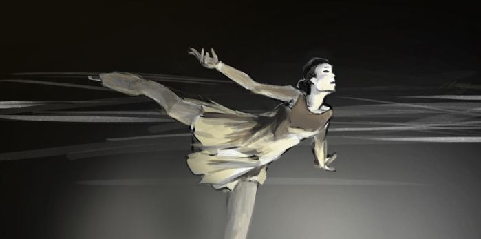 Figure Skater by Magali-Mebsout