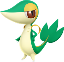 Snivy by ryanthescooterguy