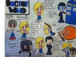 Doctor Who:Season 1: Episode 1 by DottyART