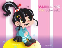 Vanellope2 by YukiPrincess
