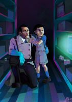 -Medic and kid- by obsceneblue