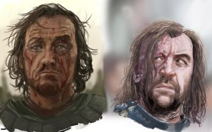 Game of Thrones sketches by slaine69