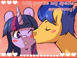 Will You Be My Special Somepony? by SatraThai
