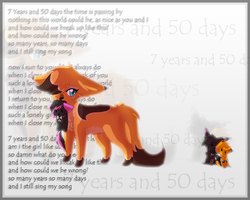 SPEEDPAINT 7years and 50 days by CrispyCh0colate