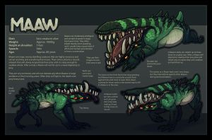 Maaw - Species Information by TheJiggyMonster