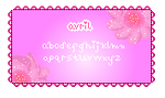 Avril - Pixel Font by XxCream-CookiesxX