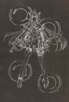Kos Mos Etching by mutedshadow