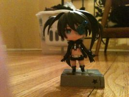 Black Rock Shooter nendroid by Hime-Kyo