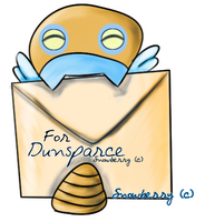 Dunsparce Letter by SnowberryInc