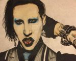 Marilyn Manson by bewitchedgirl