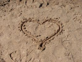 My Heart in the Sand 1 by FantasyStock