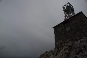 Sulphur Mountain Cosmic Ray Station by ShadowAether