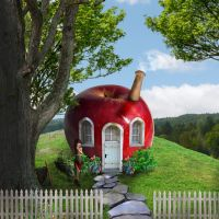 Edible Dwelling Little Apple by Digimaree
