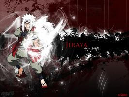 jiraya dark by legendasfp