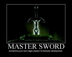 Master Sword by tomthefanboy