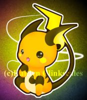 Raichu by Clinkorz