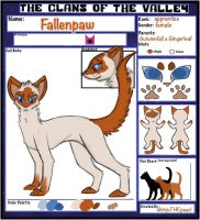 Fallenpaw WIP by TheClansOf-TheValley
