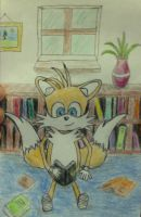 Tails Reading by tails4evr