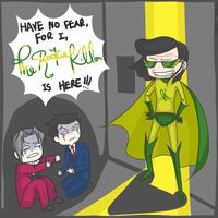 HAVE NO FEAR, FOR TRK IS HERE. by oujou-chan