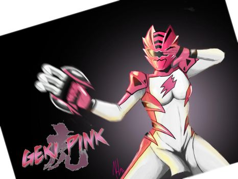 Geki Pink/ Jungle Fury Pink by the-newKid