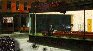 Fallout In Nighthawks by AtheistNation