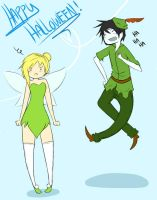 Adventure with Tink and Peter by Shino-Love-Bug248