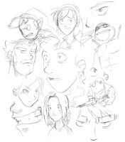 Sketch dump by Sughly