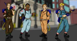 RGB Real Ghostbusters by jhroberts