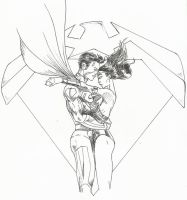 Superman/Wonder Woman by Malsim