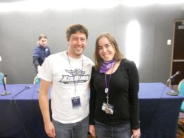 Me and Joel McDonald ACen 2012 by Marikokitty