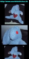 ALBERT- Zombie Bunny by morbid-stitches