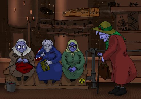 Four oldest grandmothers by Bianor