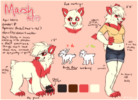 Marsh ref 2013 by BakaPup