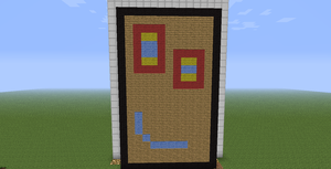 Plank in Minecraft by StationAperture