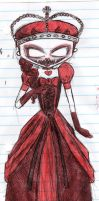 the red queen by MyaTheSquishyOctopus