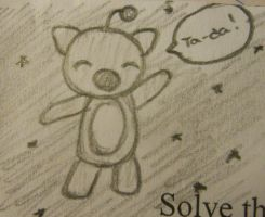Quick Moogle Doodle by Ruthasaur
