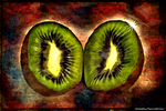 Digital Painting: Radiant Kiwi by UkuleleMoon