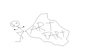 Art Fart by Patrick by RoflAndrea
