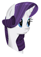 MS Paint Rarity by Ariah101