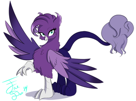 Dream Weaver Griffon by FarewellDecency