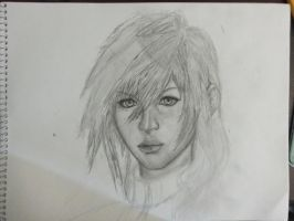 Final Fantasy Lightning In progress 2 by VanishedReality
