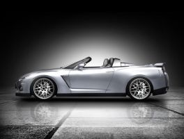 Nissan GTR Convertible Concept by angelix000000