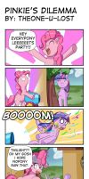 Pinkie's Dilemma by The0ne-u-lost