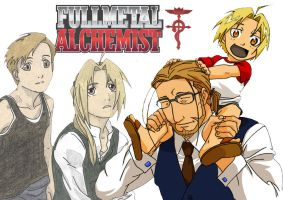 Fullmetal Alchemist wallpaper by ida1989